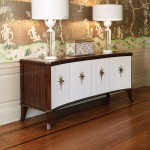 Get the Look! The Klismos Media Cabinet in a Classic Room Setting