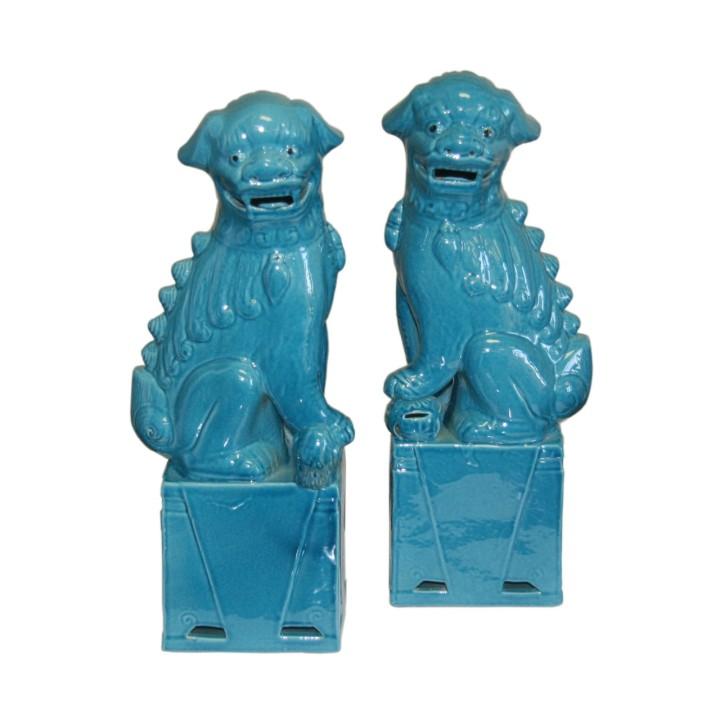 pair-of-sitting-foo-dogs-medium-turquoise