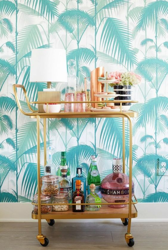 Cole Son S Palm Jungle And Palm Leaves Wallpaper The Well