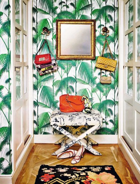 Cole Amp Son S Palm Jungle And Palm Leaves Wallpaper The