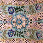 Some fun Brunschwig Fabrics: Theodora, Tien Velvet and Nisiotiko