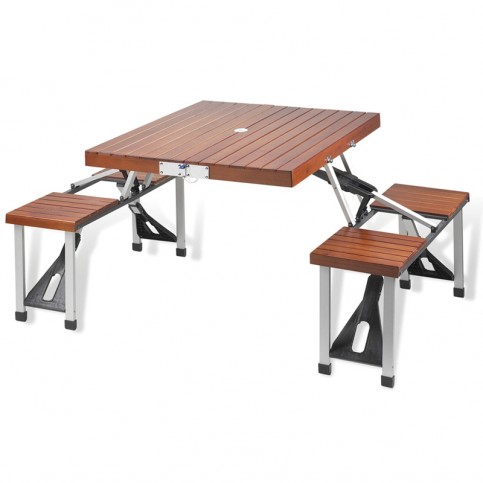 picnic table folding