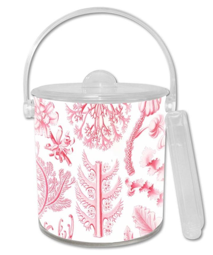 pink_coral_lucite_ice_bucket