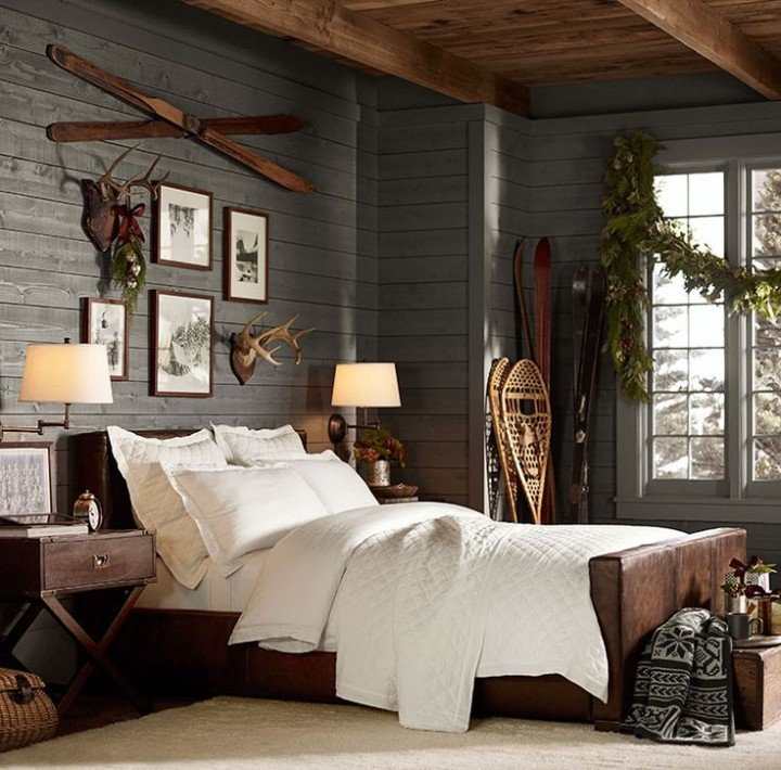 Chic Decor For The Ski Chalet The Well Appointed House