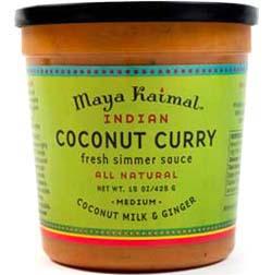 Entertaining: Maya Kaimal Coconut Curry Sauce