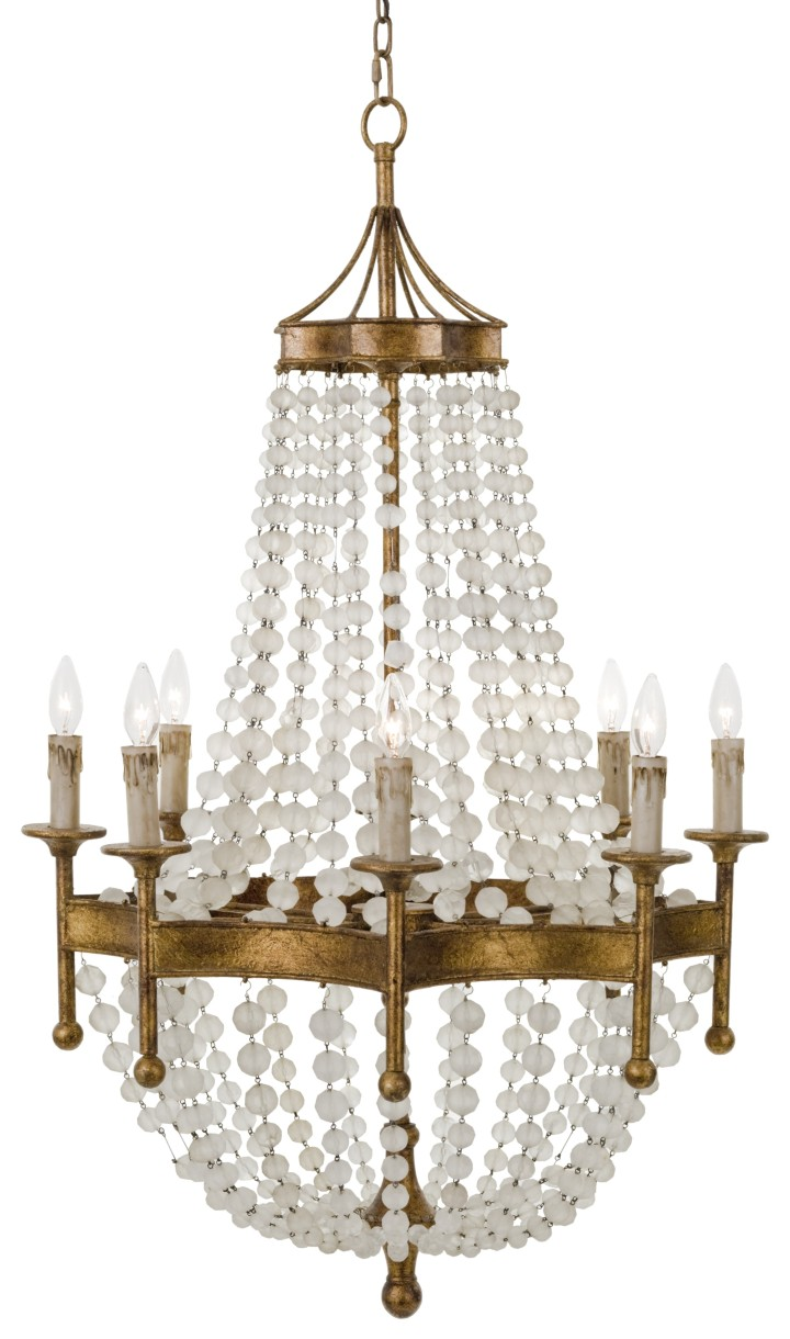 scalloped_frosted_crystal_bead_chandelier