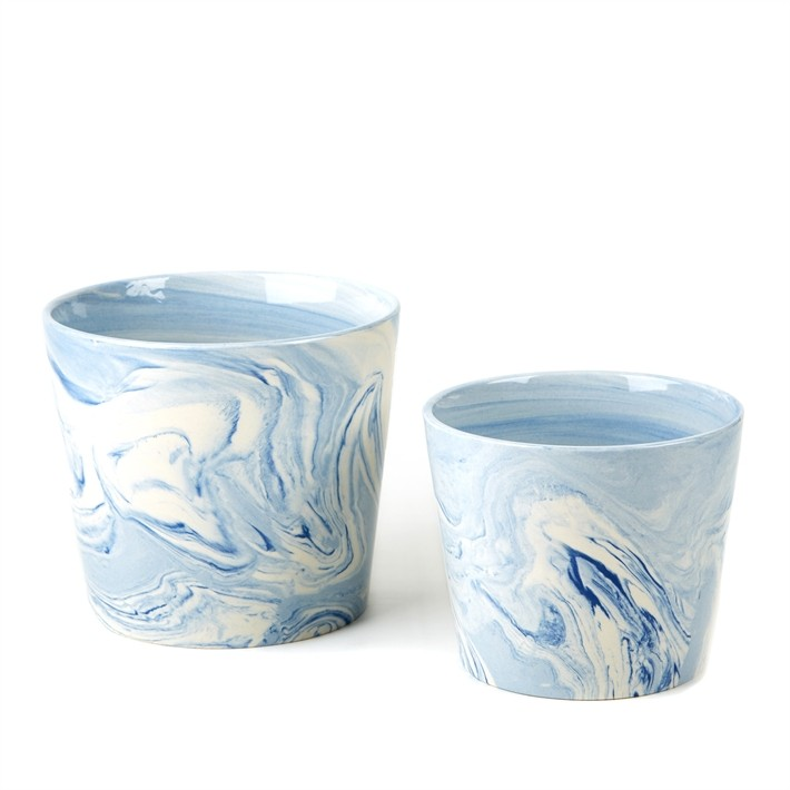 set_of_two_terre_meleee_blue_tapered_porcelain_bowls