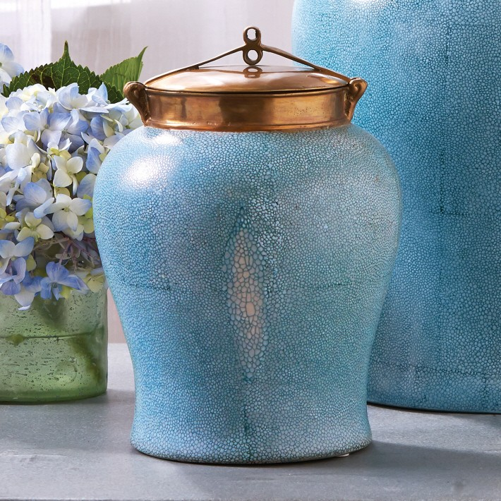 small_turquoise_shagreen_hand_painted_jar_with_bronze_lid