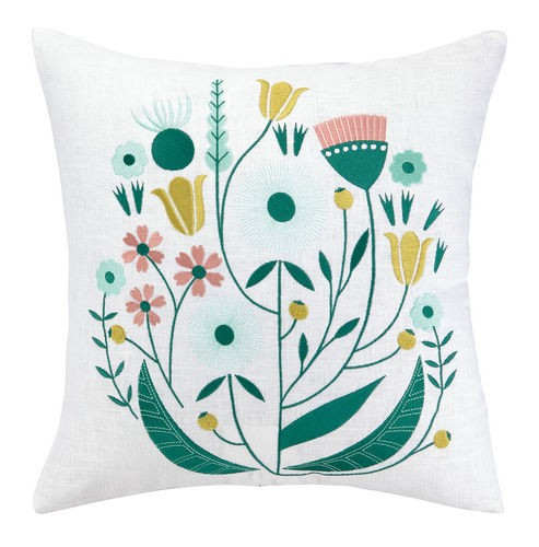 whimsical-flower-pillow