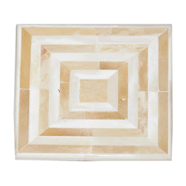 white-bone-coaster-antique-bone-square-pattern-set-of-4
