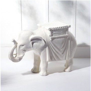 ENTER OUR LATEST GIVEAWAY!  YOU CAN WIN THIS CERAMIC ELEPHANT SIDE STOOL – VALUE $400!