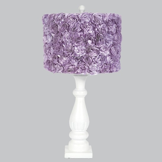 white_shabby_chic_table_lamp_with_lavender_rose_shade
